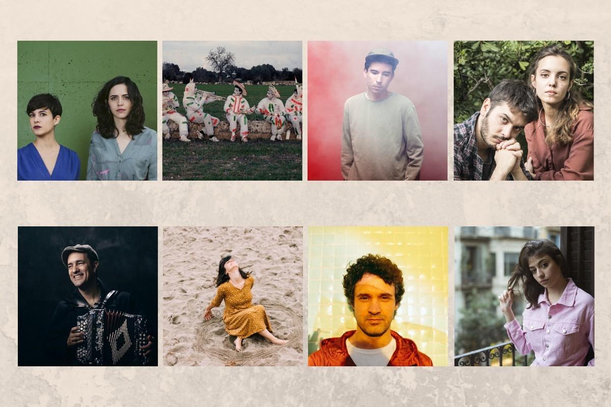 Artistes finalistes al Premi Cerverí 2020