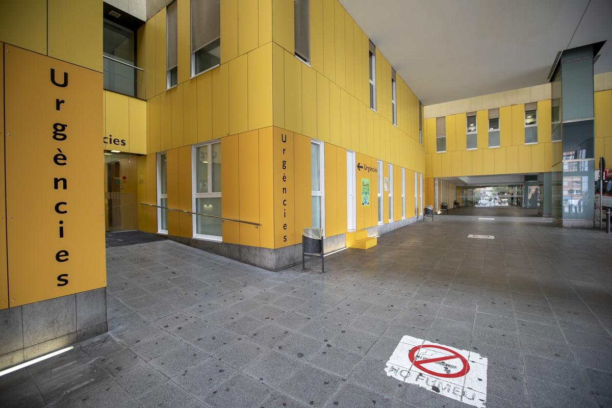 Les urgències de l'Hospital Parc Taulí