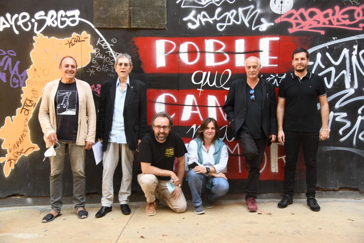 Pere Camps, Pi de la Serra, Roger Mas, Silvia Comes, Joan Isaac i Pau Alabajos