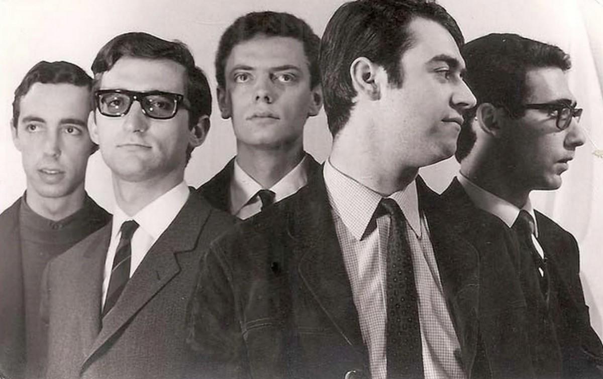 Els 4Z. A l'esquerra de tot, José Luis Berenguer