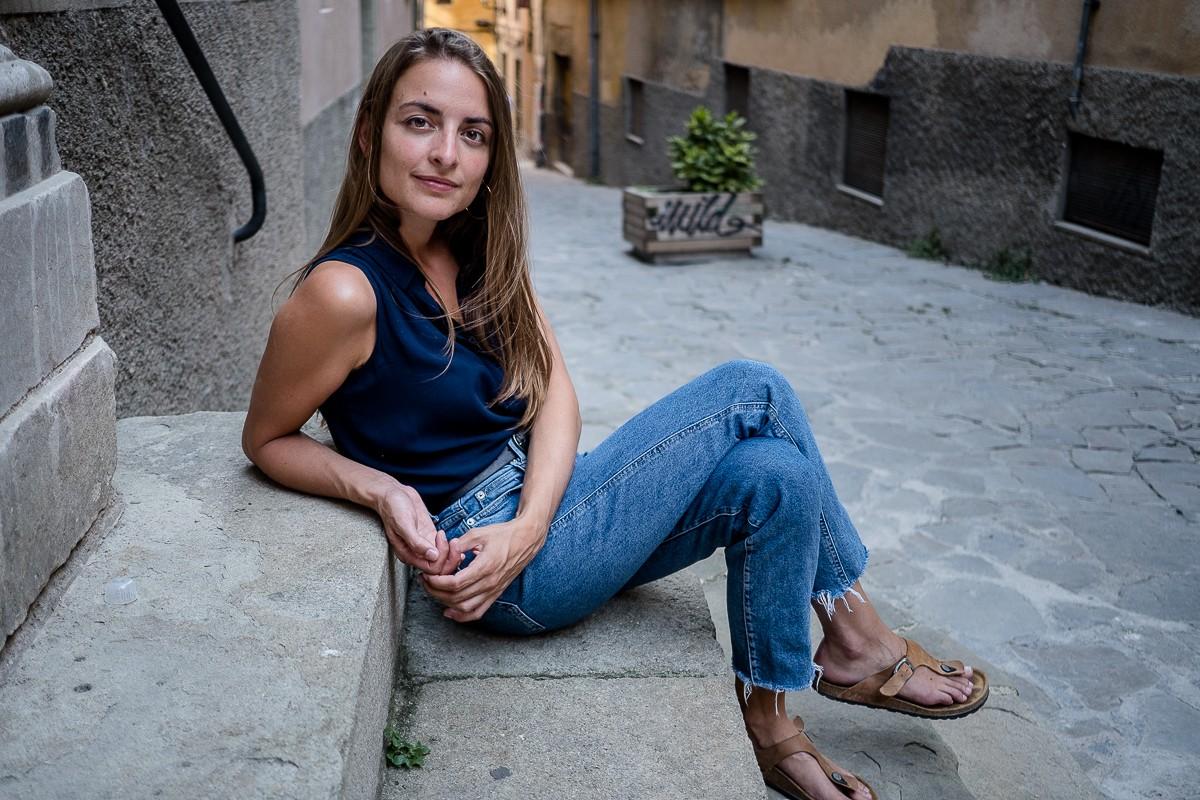 L'escriptora Irene Solà