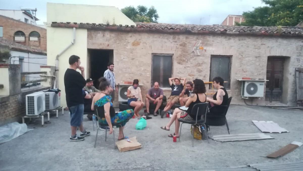 Una reunió de La Lombarda Films