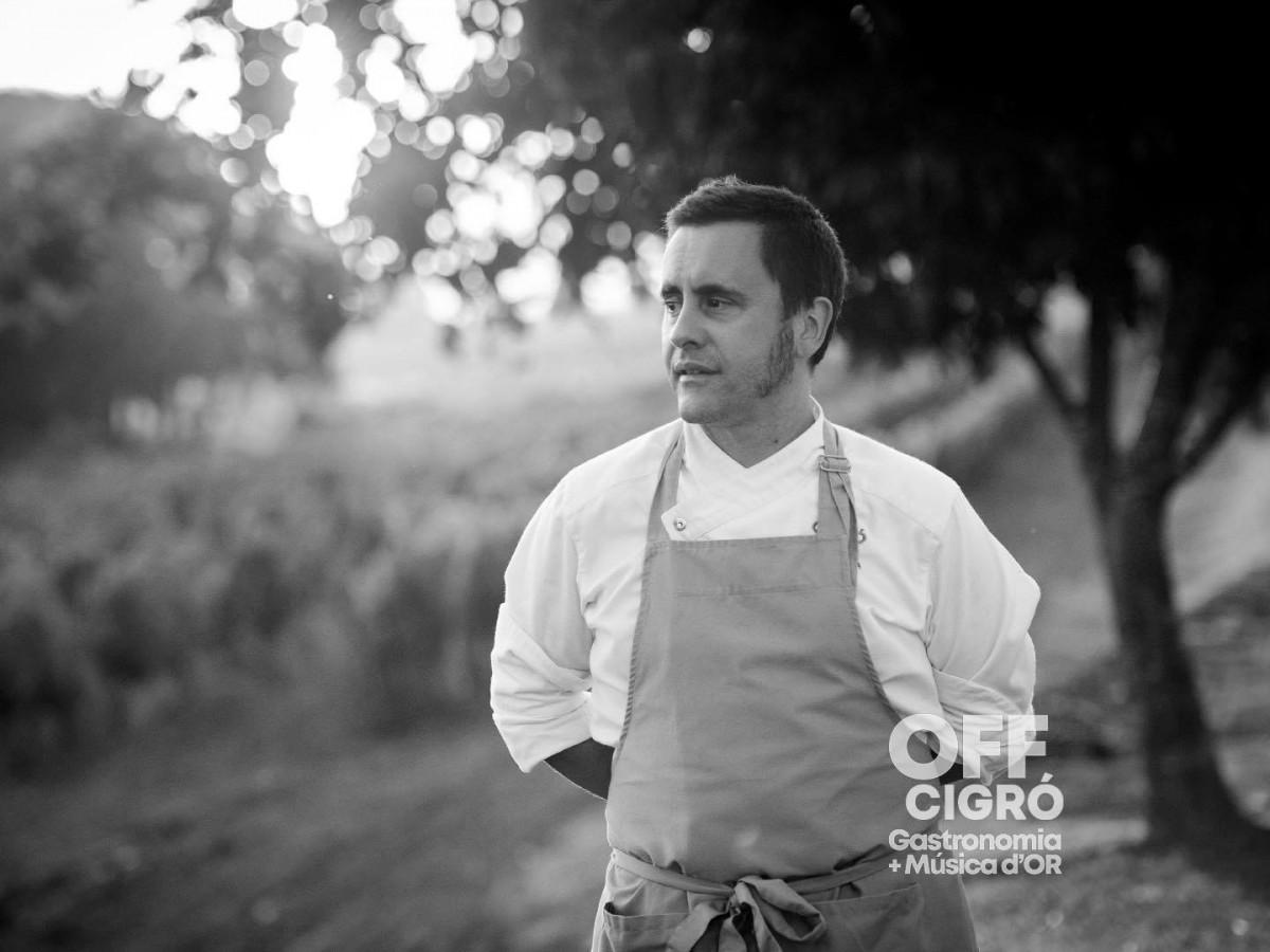 Oriol Llavina, del restaurant El Cigró d'Or
