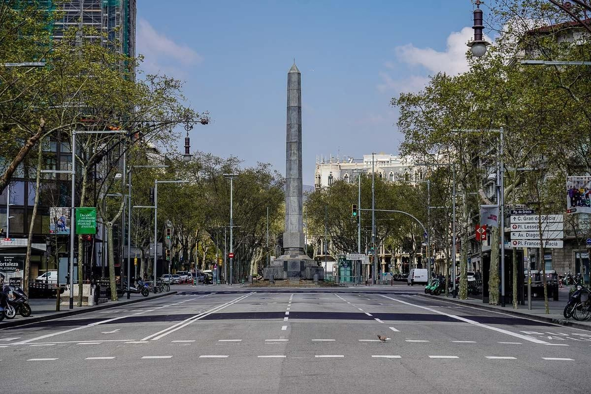 Barcelona, al març.