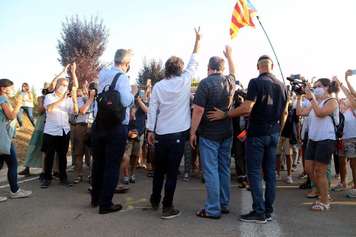 Els presos polítics tornen a la presó amb el tercer grau suspès