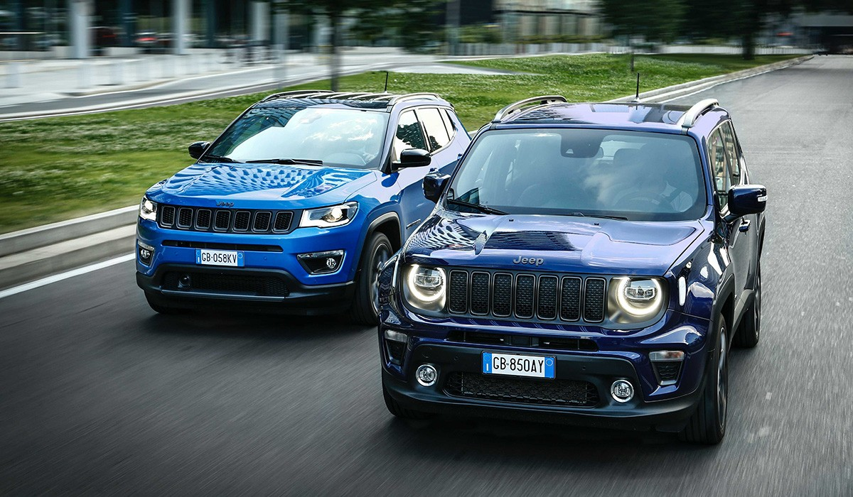 Compass i Renegade 4xe l'aposta hibrída endollable de Jeep