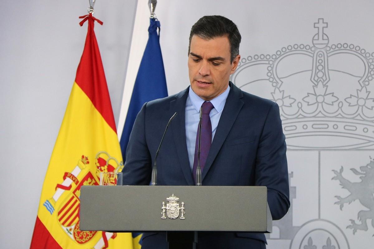 Pedro Sánchez, aquest dimarts.