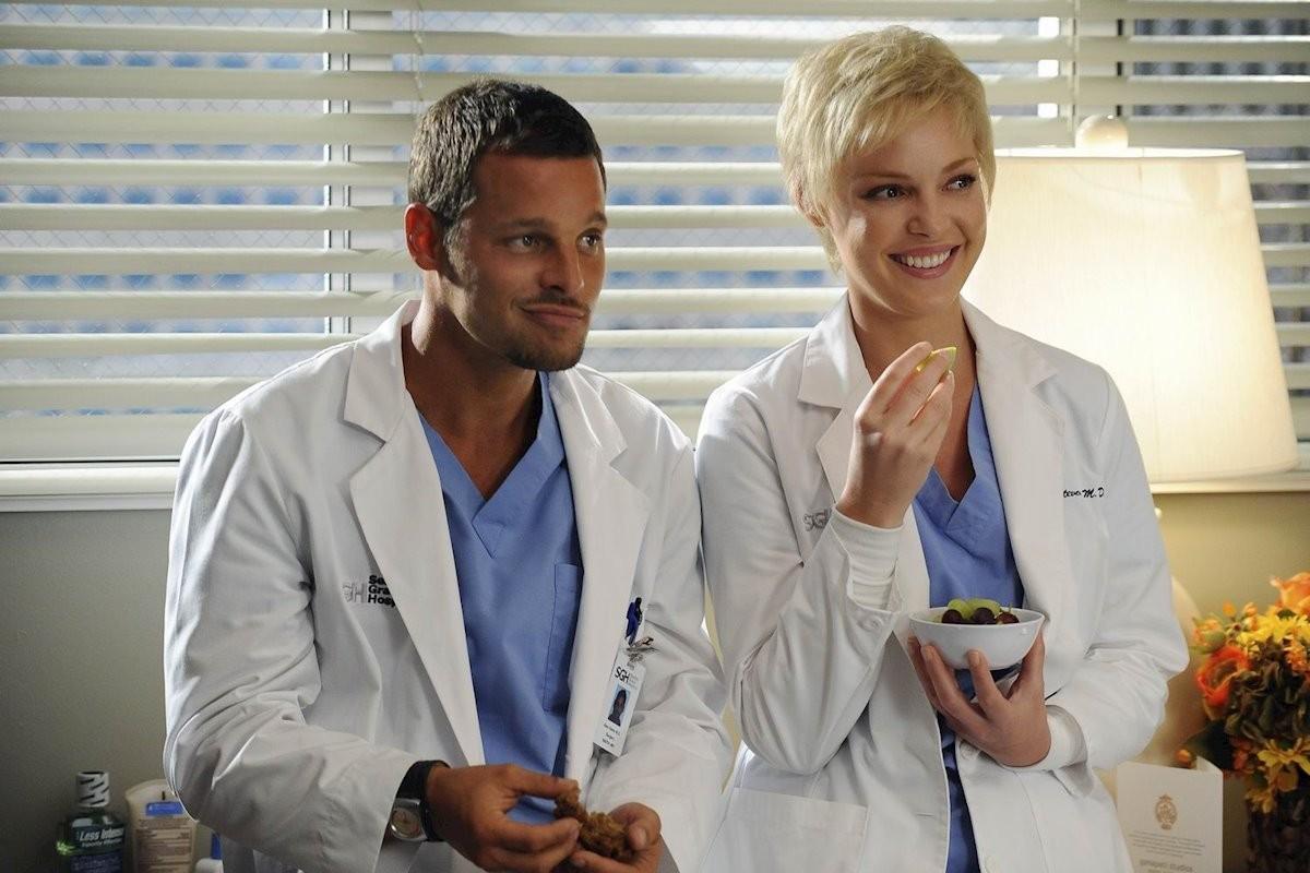 Dos dels protagonistes de la sèrie