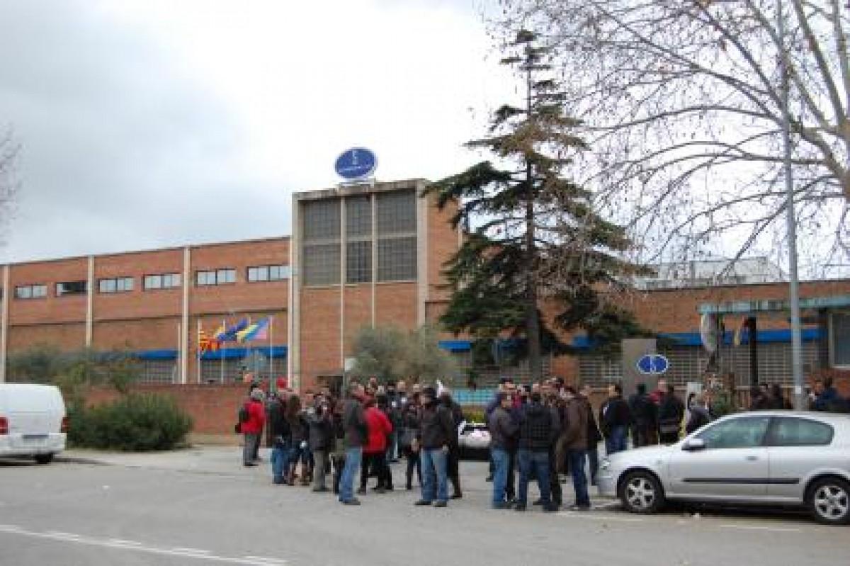 Imatge de la fàbrica de Motherson Sintermetal ubicada a Ripollet