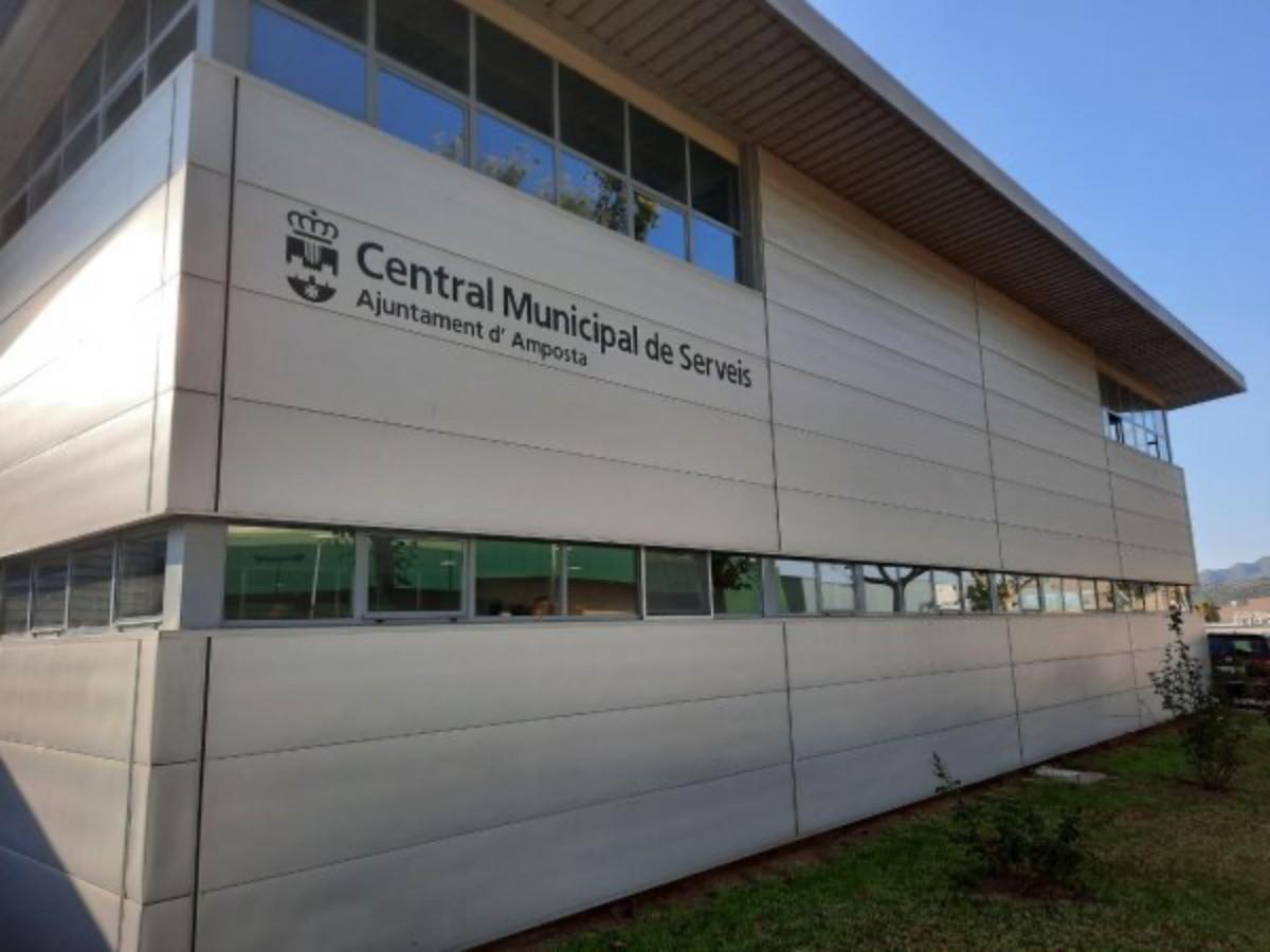Central Municipal de Serveis de l'Ajuntament d'Amposta.
