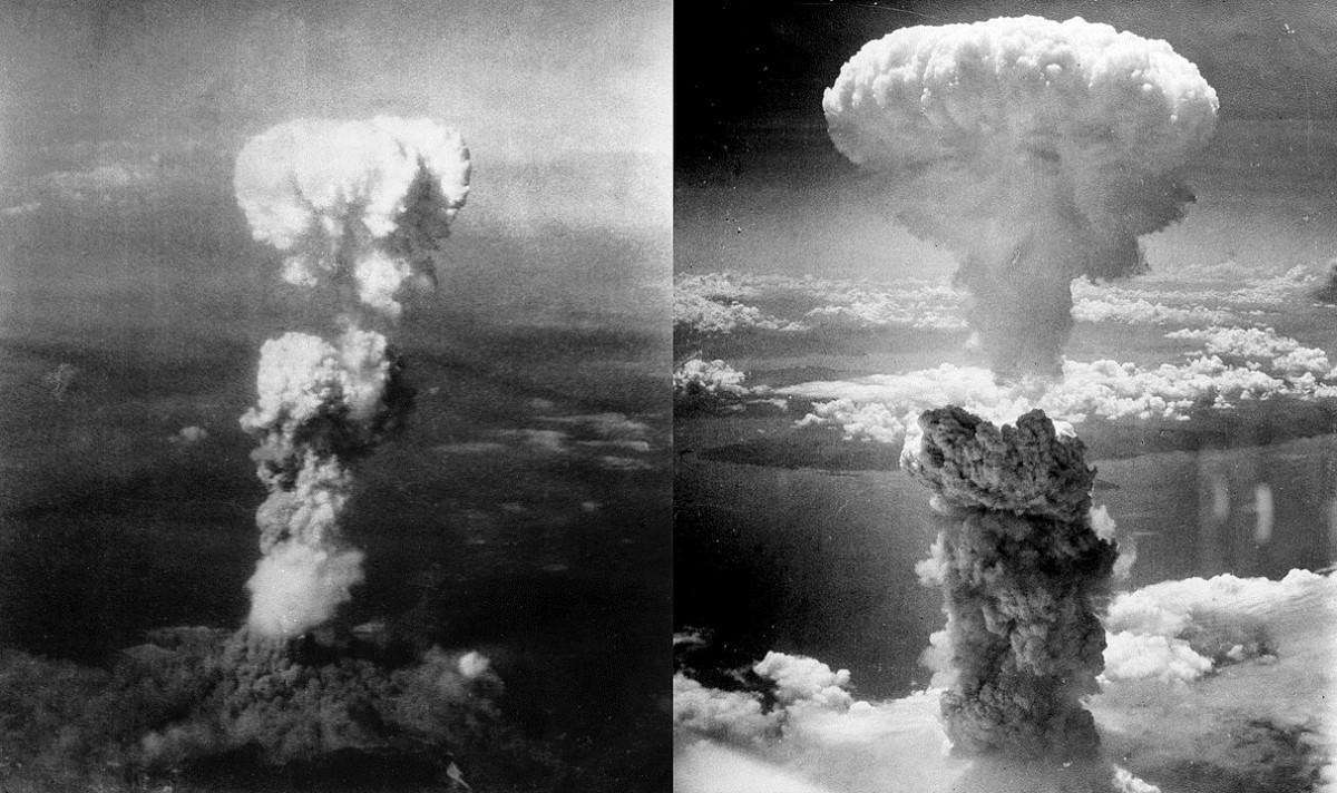 Els dos bolets atòmics d'Hiroshima i Nagasaki