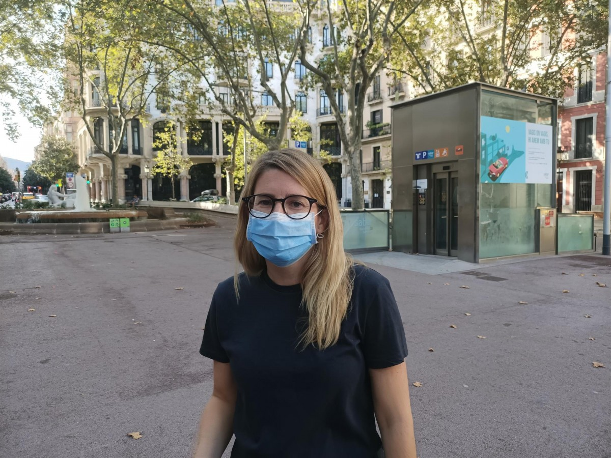 La vicepresidenta de JxCat i regidora de l'Ajuntament de Barcelona, Elsa Artadi