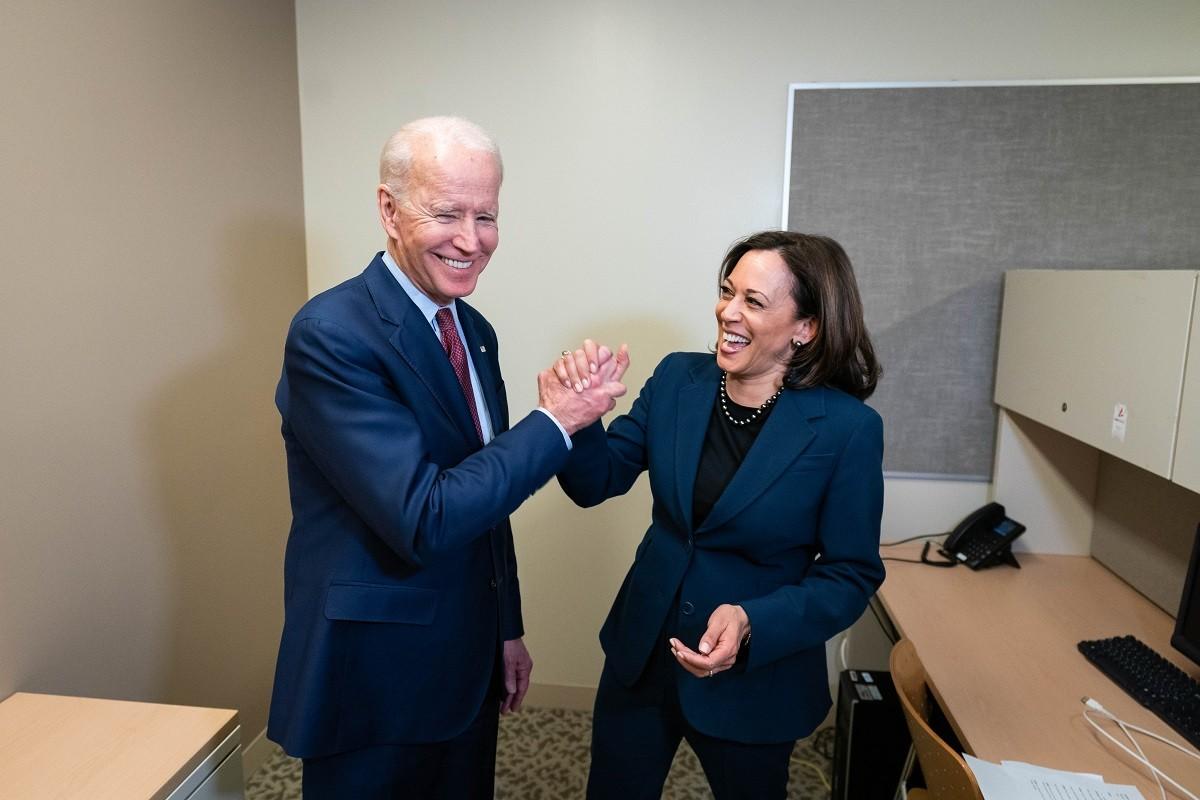 Joe Biden i Kamala Harris.