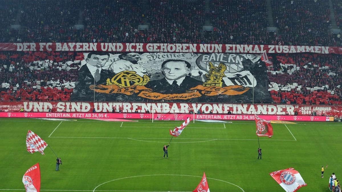 La grada del Bayern recorda Landauer, el president jueu represaliat pel nazisme