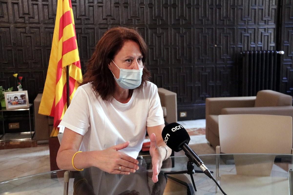 Marta Madrenas, batllessa de Girona.