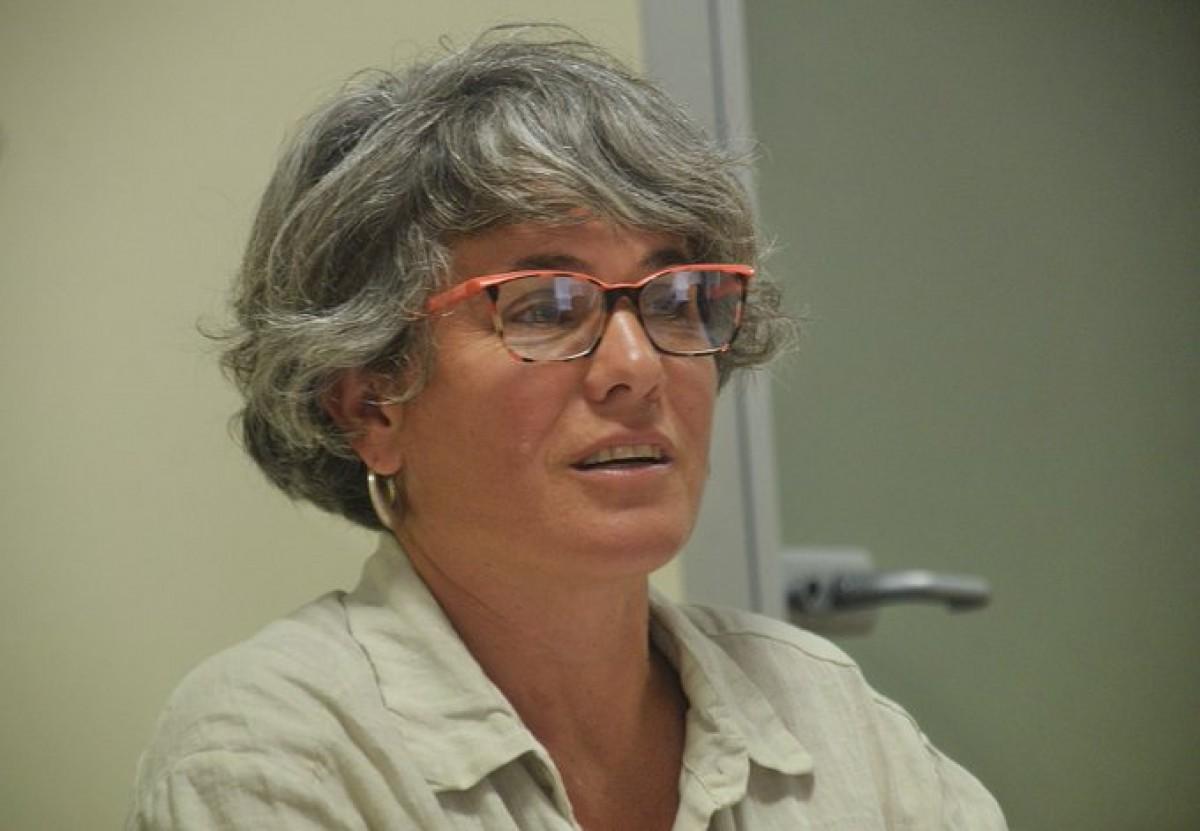 Cristina Andreu és regidora de Guanyem a l'Ajuntament de Girona.