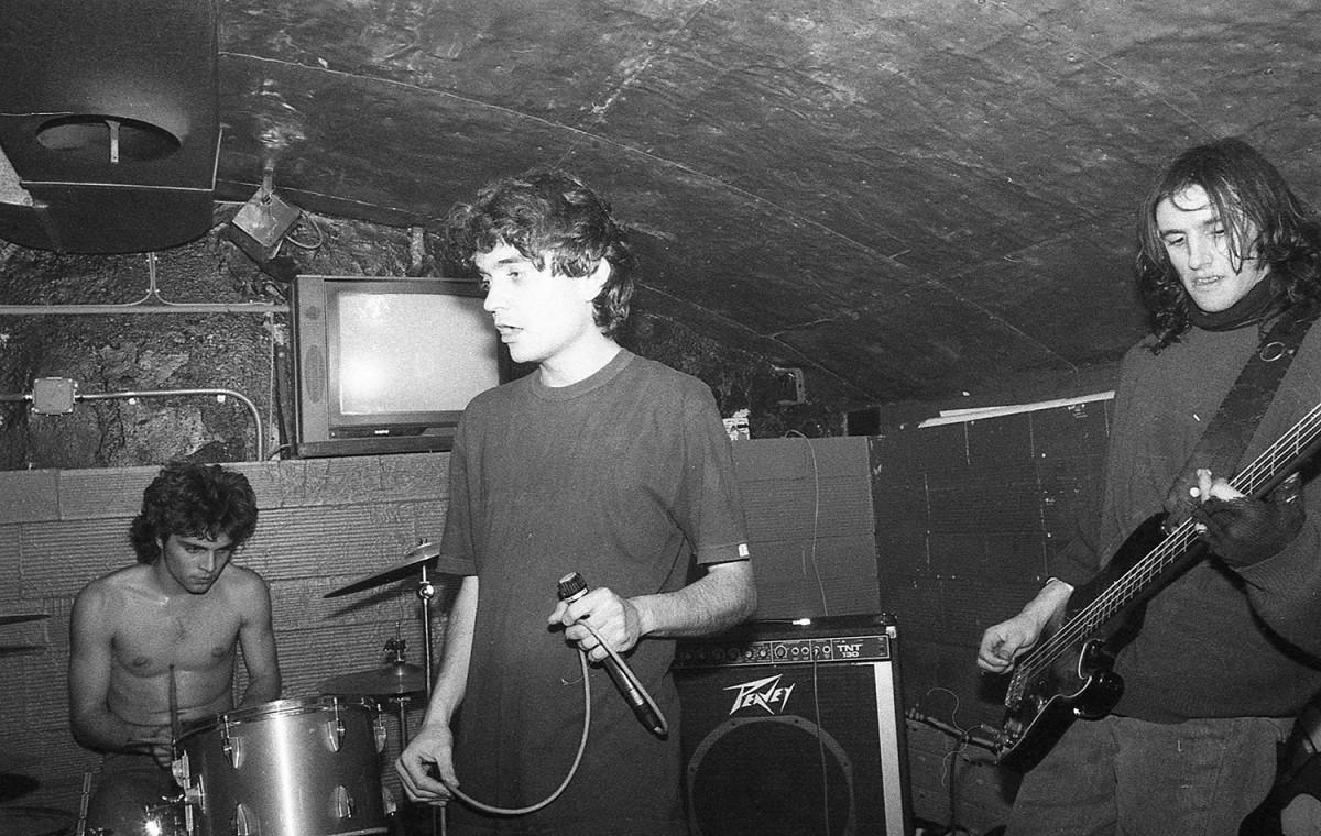 Cerebros Exprimidos en una actuació l'any 1990 a la sala Communiqué de Barcelona