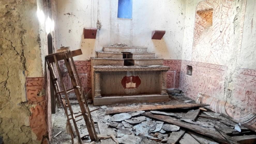 Imatge de l'interior de l'església romànica de Sant Serni