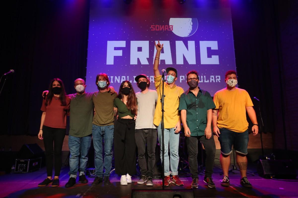 Franc, finalista al vot popular