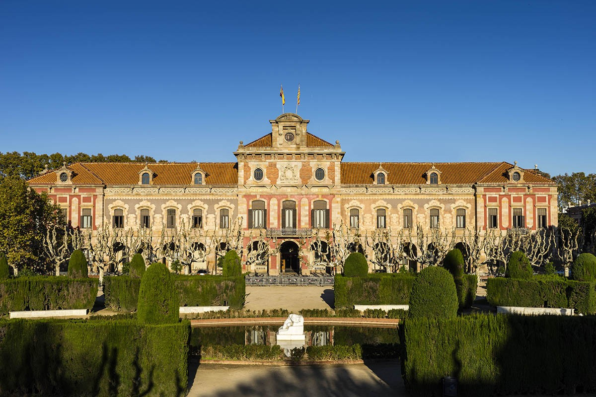 La seu del Parlament de Catalunya.