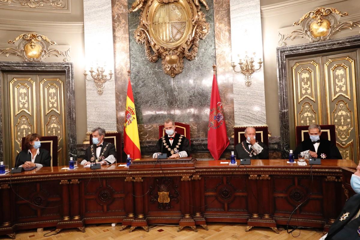 L'obertura de l'any judicial 2020.