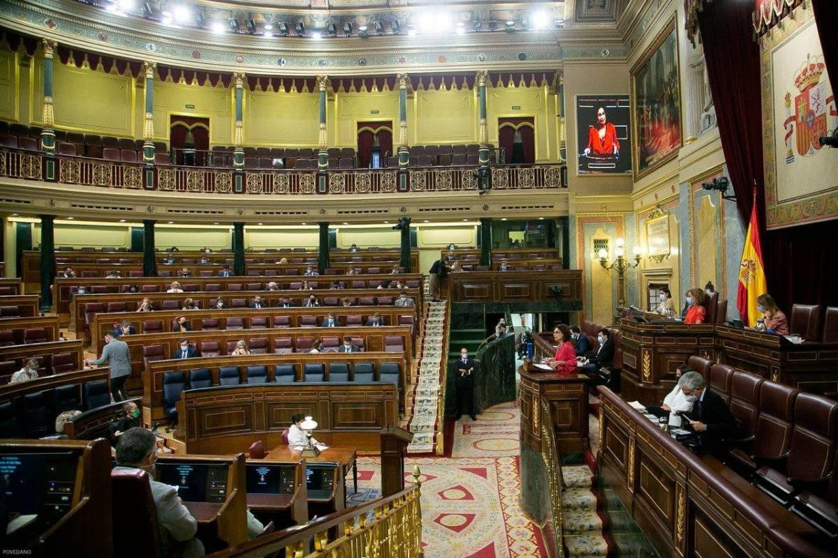 El Congrés, escoltant la ministra d'Hisenda, María Jesús Montero, en un ple recent.