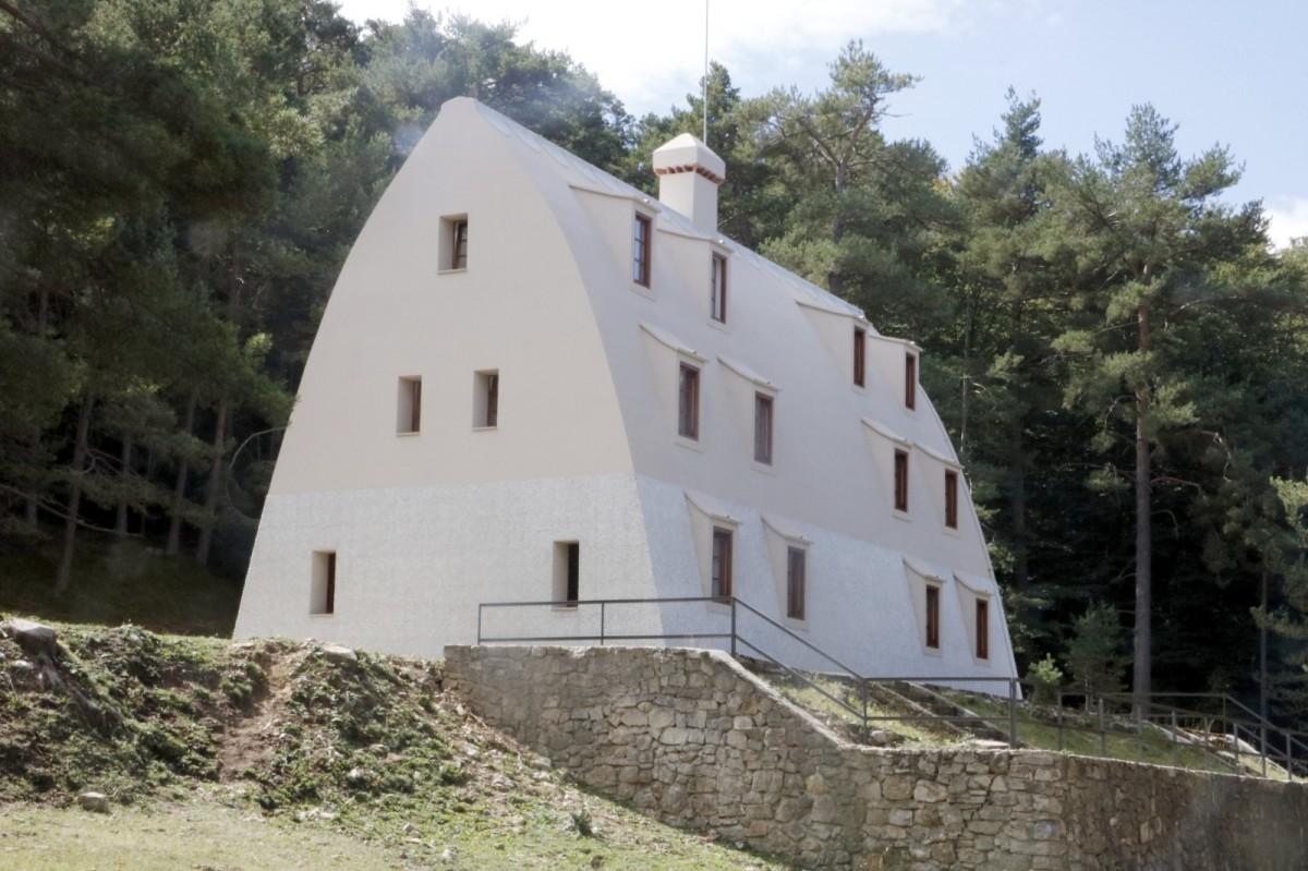 El Xalet del Catllaràs, a la Pobla de Lillet.