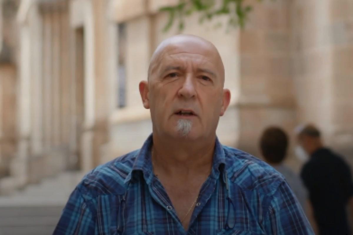 Jaume Oller és el propietari d'El Porró, restaurant de tapes del Centre de Terrassa.