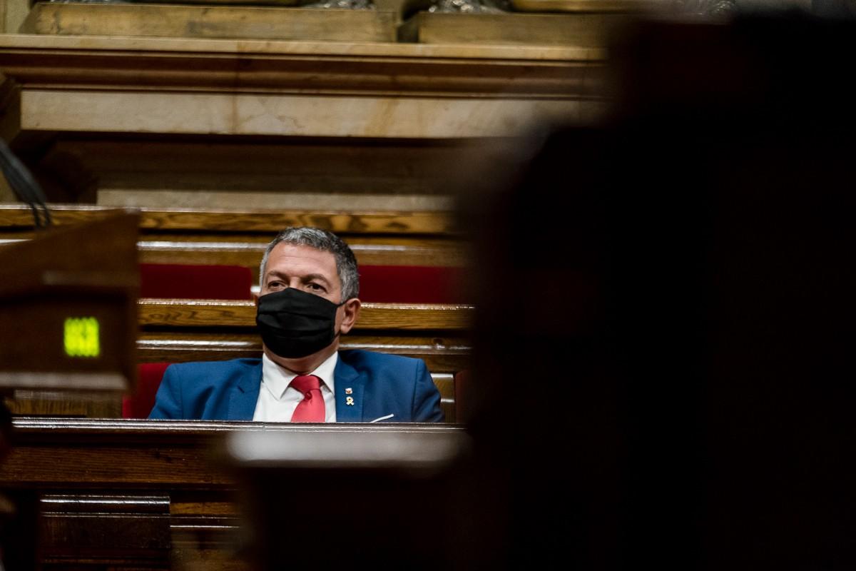 Miquel Sàmper, conseller d'Interior.