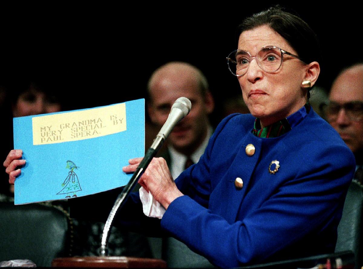 La jutgessa del Tribunal Suprem dels Estats Units, Ruth Bader Ginsburg