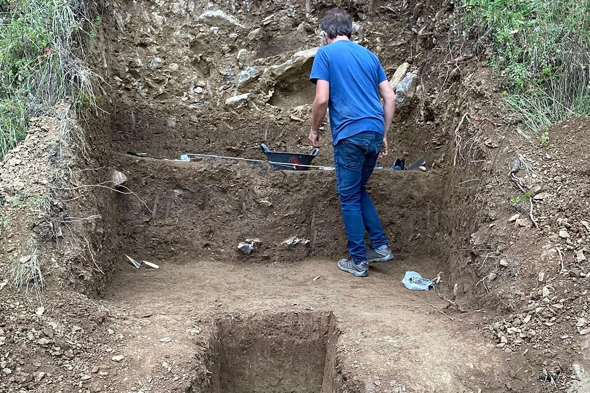 Les noves excavacions de Sota Palou de Campdevànol
