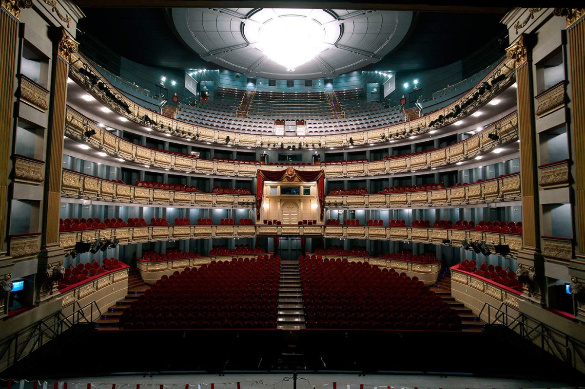 La gran sala del Teatro Real