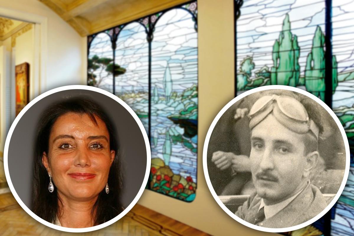 Liliana Godia (1971) i el seu pare, Francisco Godia (1921-1990)
