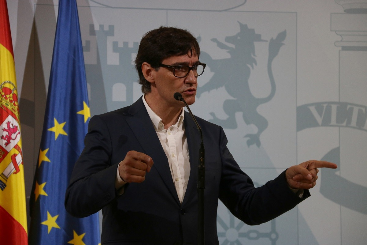 El ministre de Sanitat, Salvador Illa, demana al govern de Madrid actuar ja