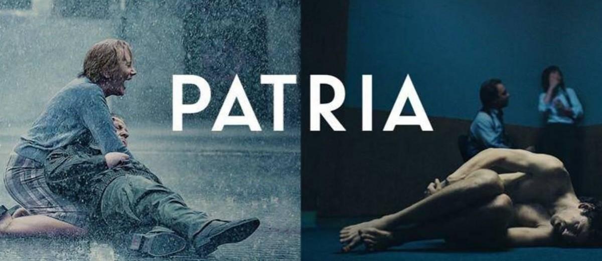 El cartell promocional de «Patria»