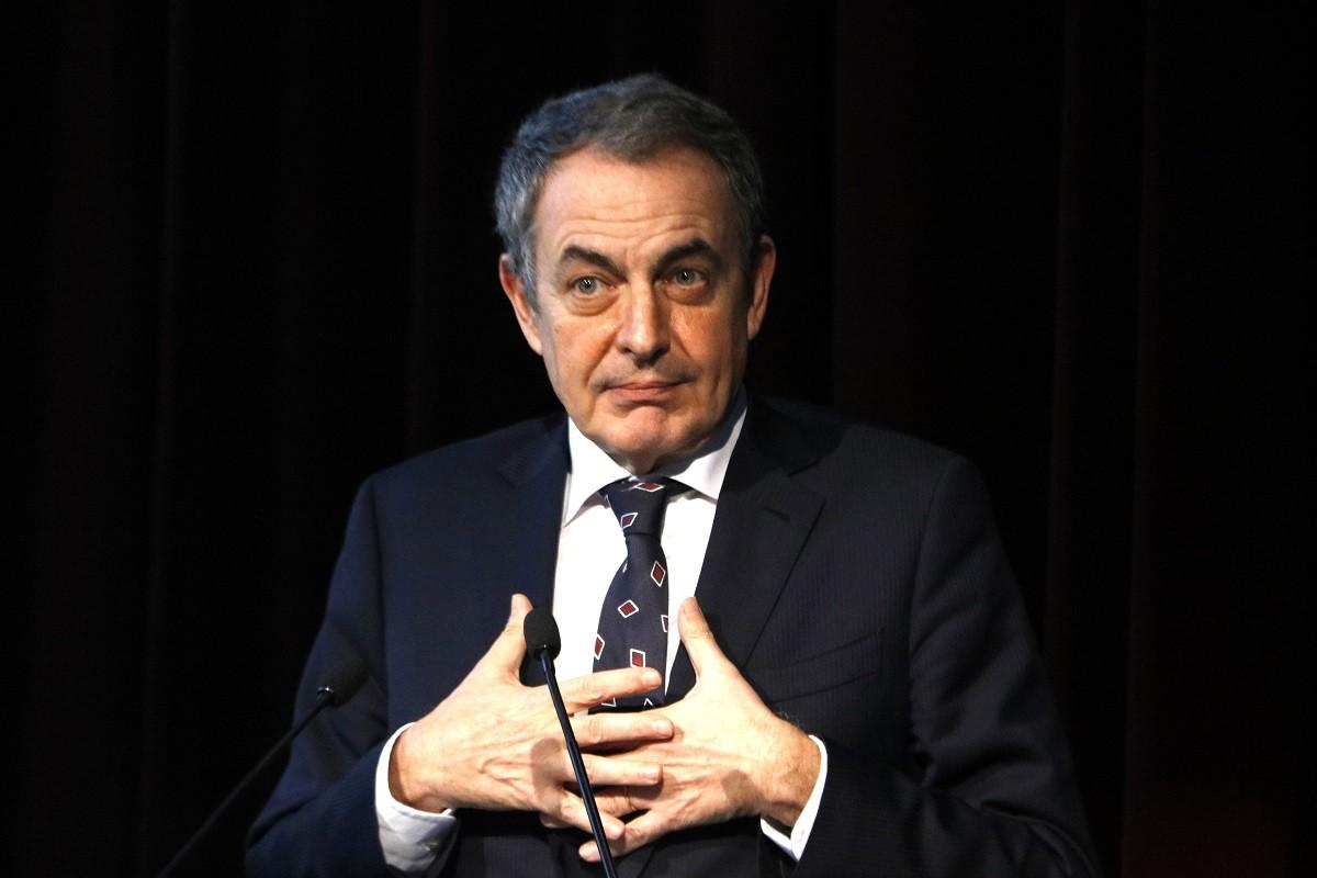 Zapatero, en imatge d'arxiu a Barcelona