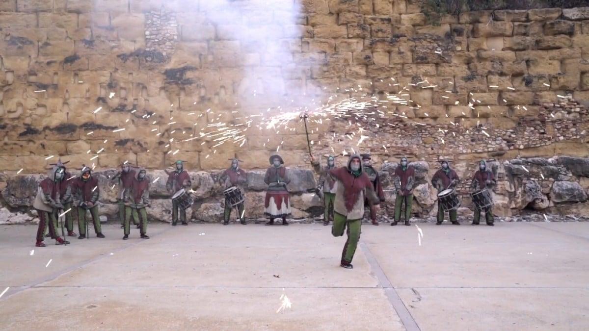 Els parlaments del Ball de Diables de Tarragona, en un vídeo difós per l'Ajuntament.