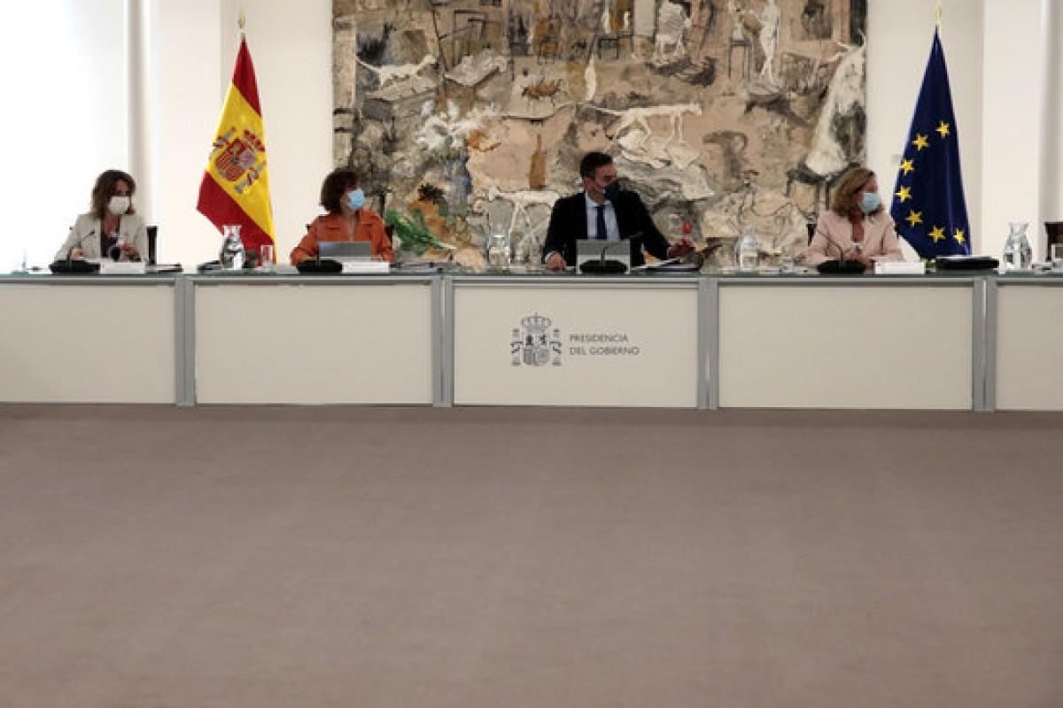 Imatge del consell de ministres d'aquest dimarts.