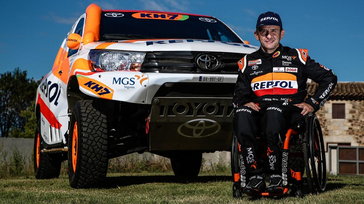 El pilot d'Oliana disputarà per primera vegada el Dakar aamb un Toyota Hilux V8