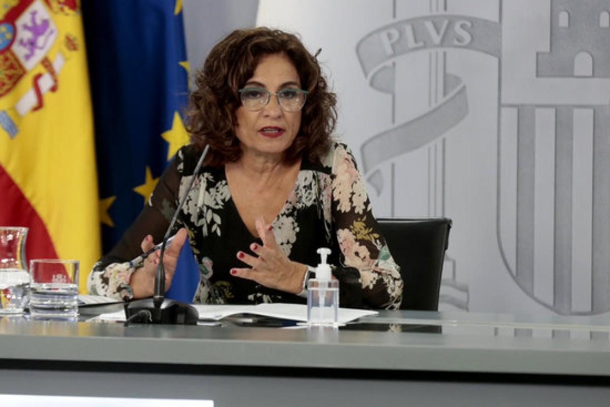 La ministra portaveu, María Jesús Montero, en una imatge d'arxiu.