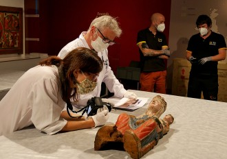El primer museu català a utilitzar supervisors virtuals per desmuntar una mostra