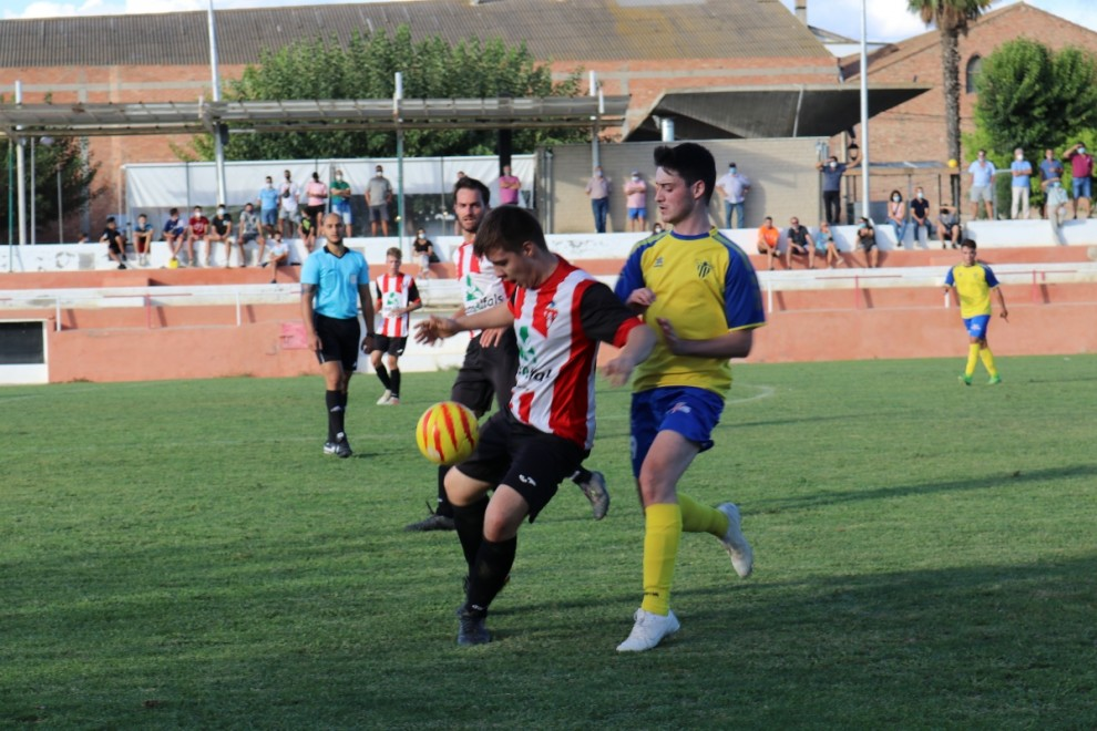El Pobla va aconseguir la victòria amb un doblet d'Ivan López