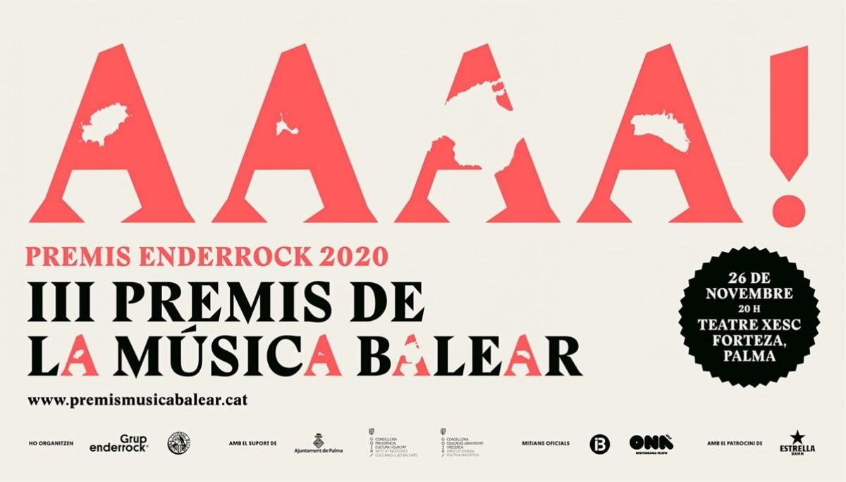 III Premis Enderrock de la Música Balear 2020