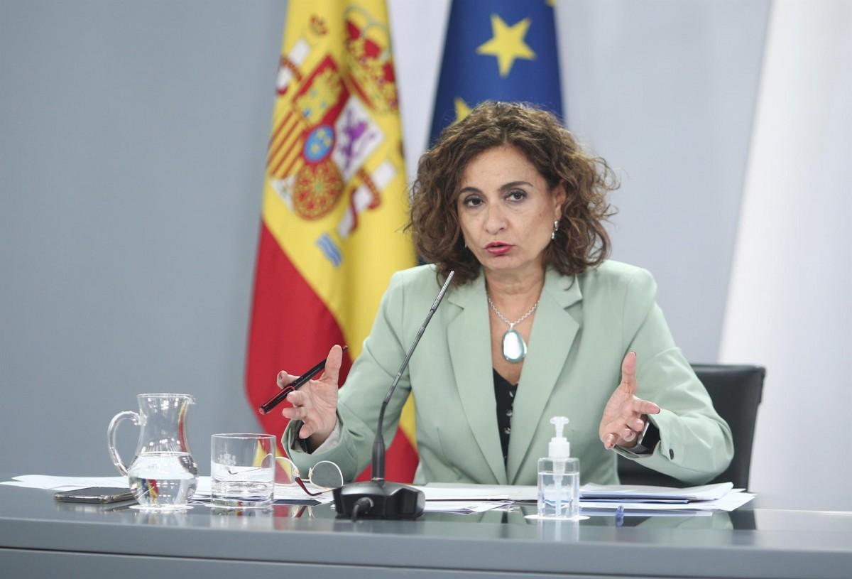 María Jesús Montero, ministra portaveu del govern espanyol, en una imatge d'arxiu.