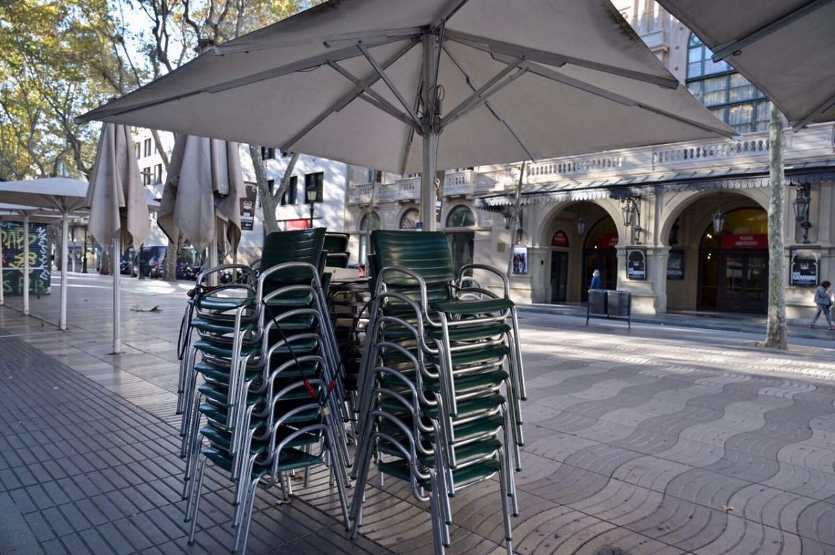 Restaurants tancats al centre de Barcelona