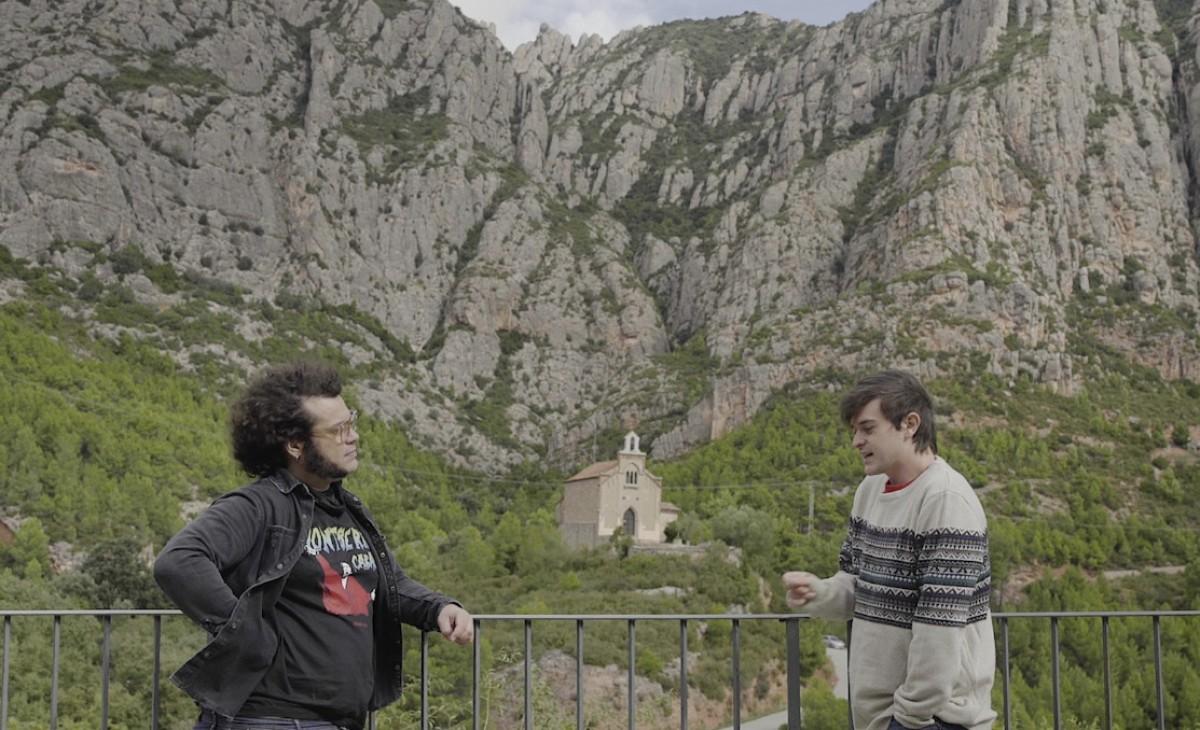 Marc Bala entrevistant Lluís Arruga (Lles)