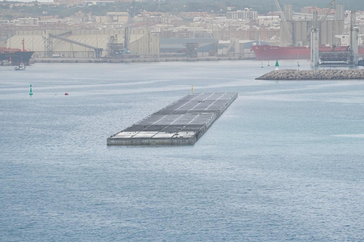 El moll de Balears, al Port de Tarragona.