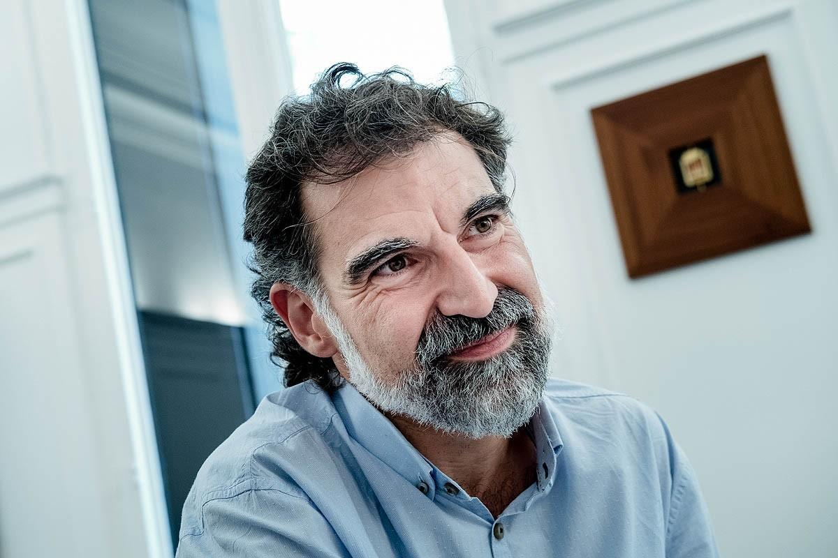 El president d'Òmnium, Jordi Cuixart.