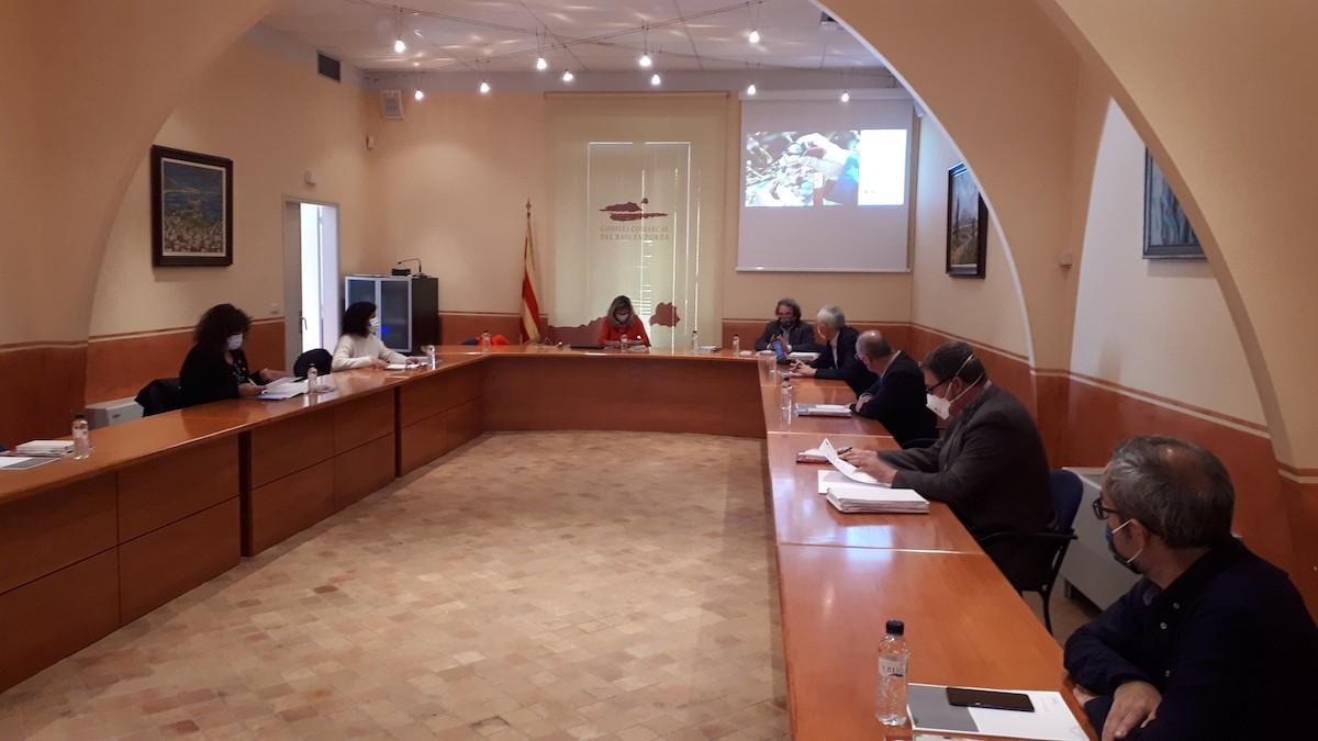 Un aspecte de la segona Taula Institucional de les Comarques de Girona.