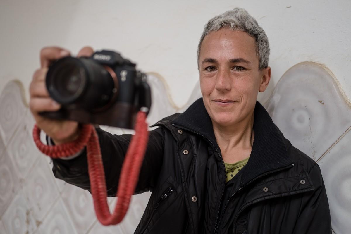 La fotoperiodista egarenca Mireia Comas.